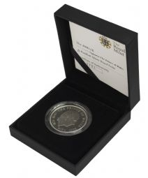 2008 Silver Proof Piedfort £5 Coin Prince of Wales for sale